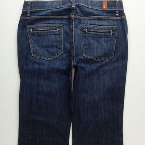 7 For All Mankind Flare Jeans Women's 26 B007